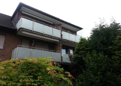 Balkonanlage mit Verkleidung | Planung & Konstruktion | Janssen GmbH