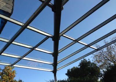 Montage Vordach von Metallbau Janssen aus Kalkar