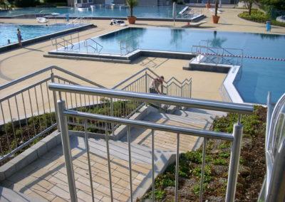 Geländer für das Schwimmbad | Planung und Konstrutkion | Janssen GmbH