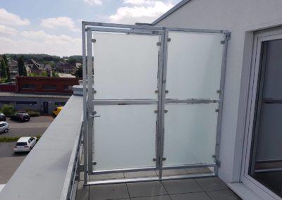 Trennwand für den Sichtschutz | Planung & Konstruktion | Janssen GmbH